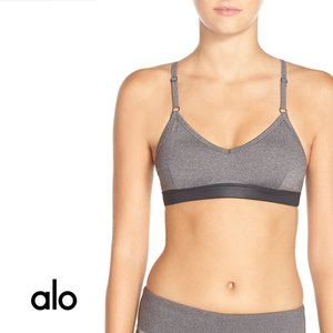ALO YOGA Westerly Gray Bra